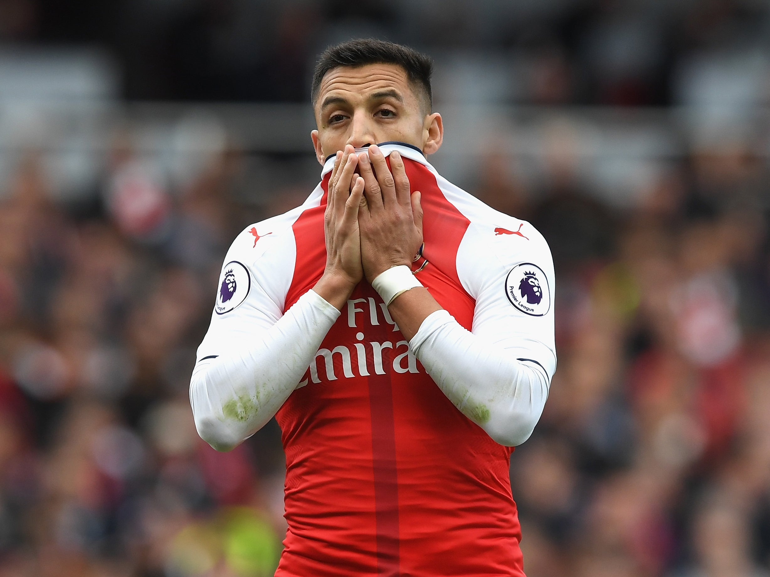 Arsene Wenger insists Alexis Sanchez has not asked to leave