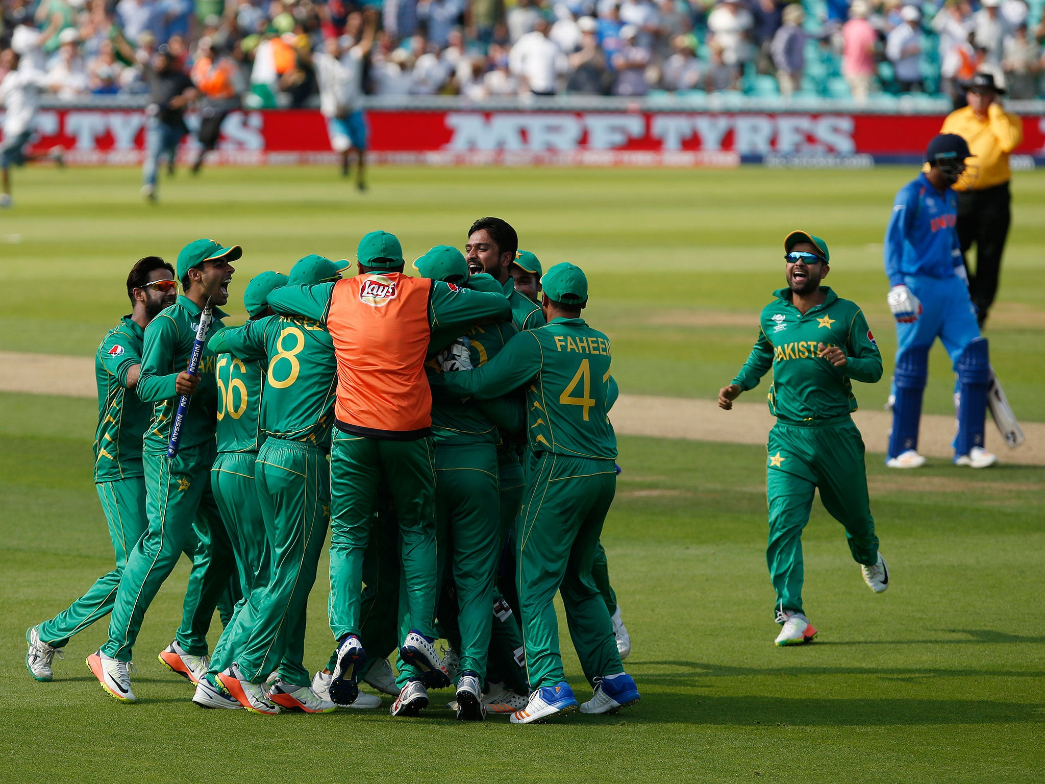 Pakistan upset the odds to topple rivals india and claim first pakistan upset the odds to topple rivals india and claim first ever champions trophy title the independent fandeluxe PDF