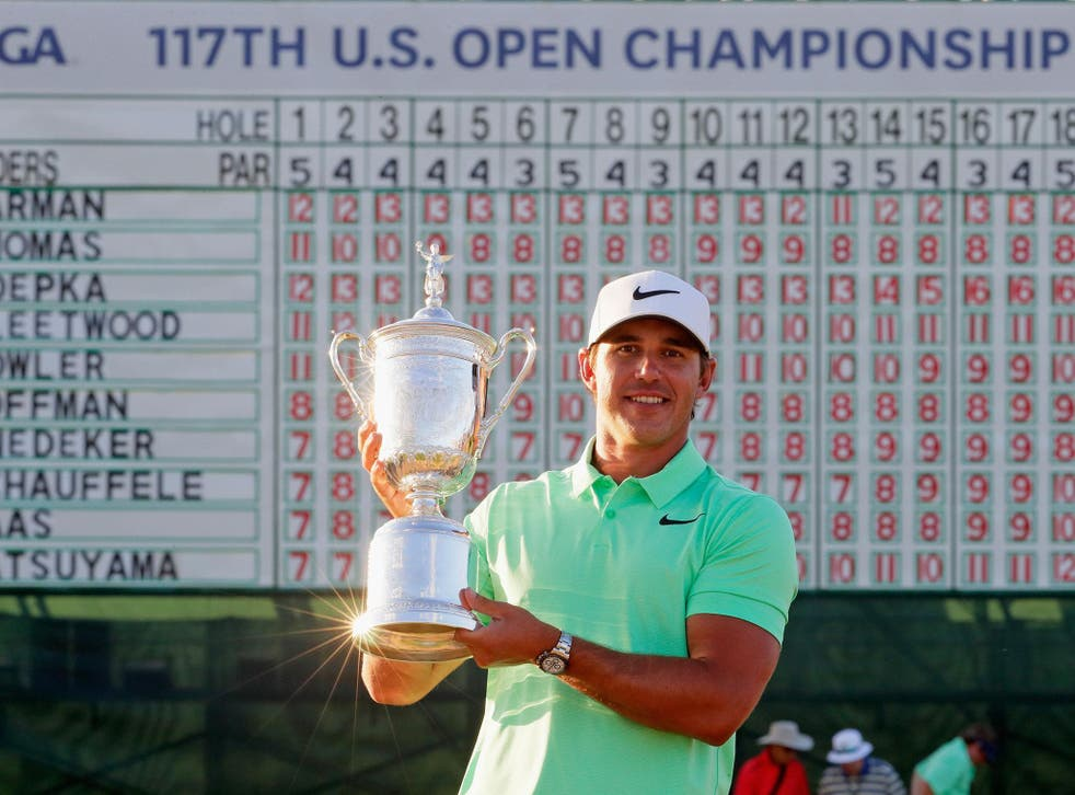 Brooks Koepka beat off his competition to conquer Erin Hills