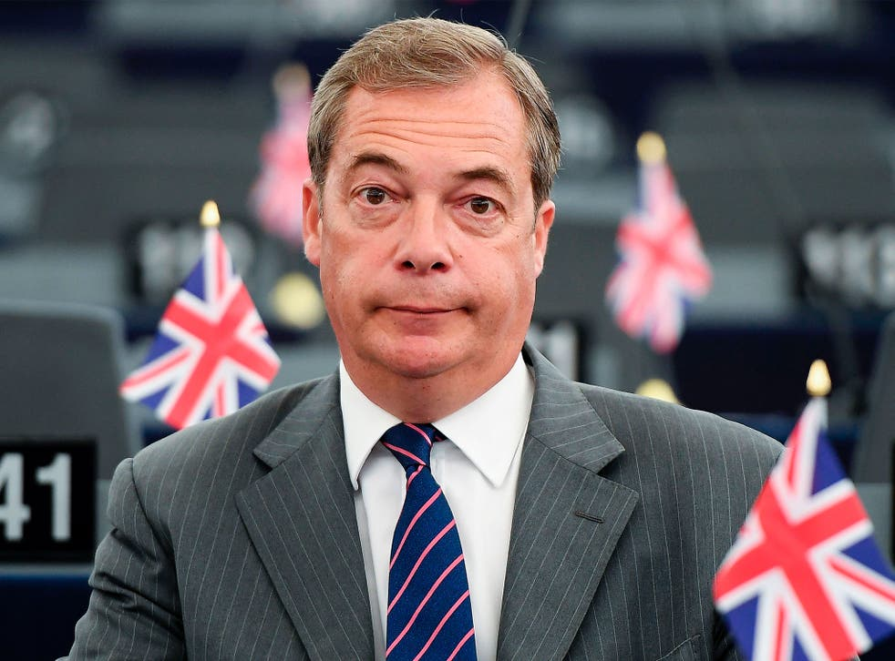 'To return now would be premature' says the three-time Ukip leader