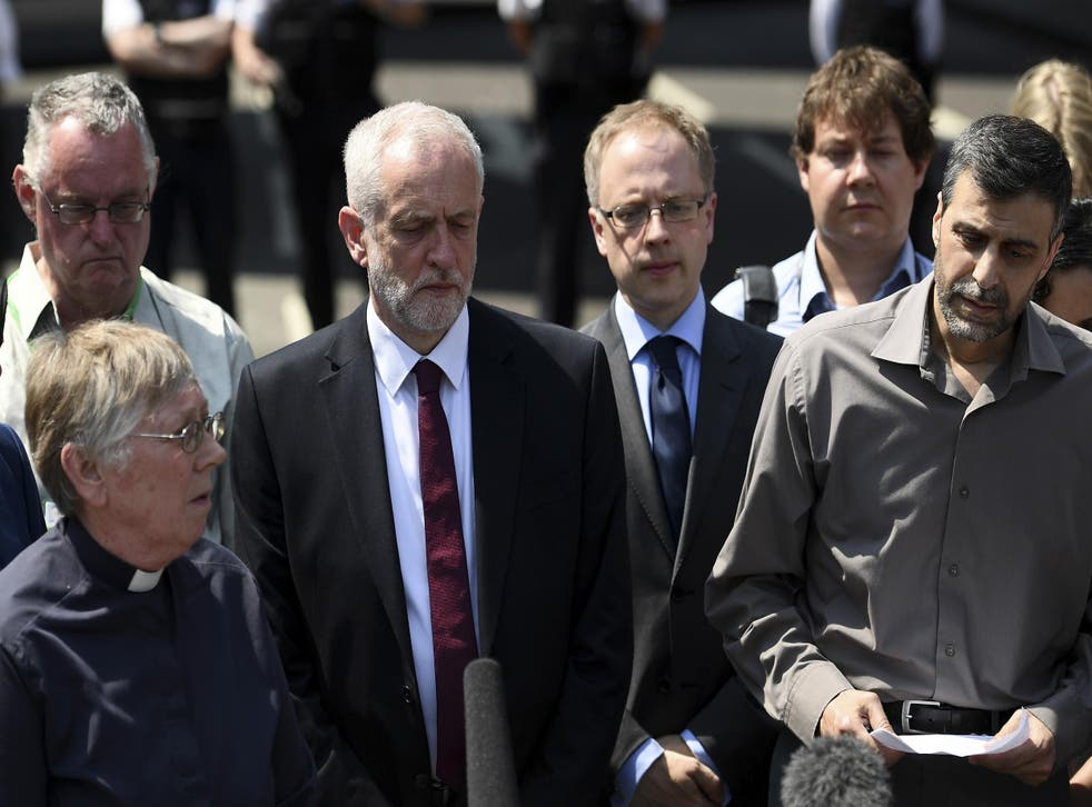 Labour leader said he would attend service with council chiefs