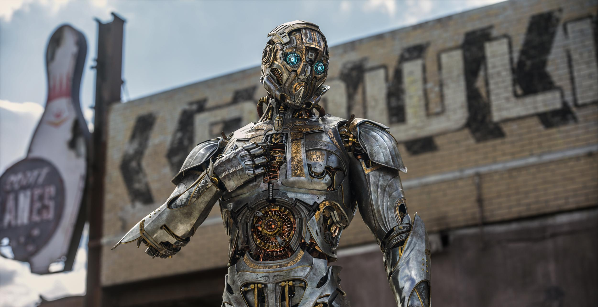 Meet The Main Characters Of Transformers Last Knight Transformer Sir Edmunds Butler Is A Human Sized Headmaster Fused With An Organic Life Form Who Transforms Into Elegant Silver Aston Martin