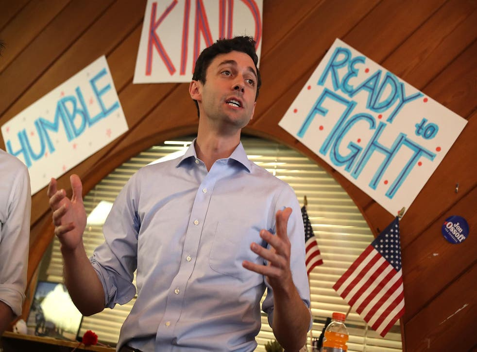 Mr Ossoff is hoping for an upset in Georgia's sixth