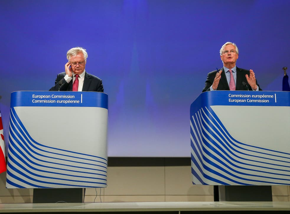 The Brexit negotiations have begun, with David Davis going head to head against the EU's Chief Negotiator, Michael Barnier