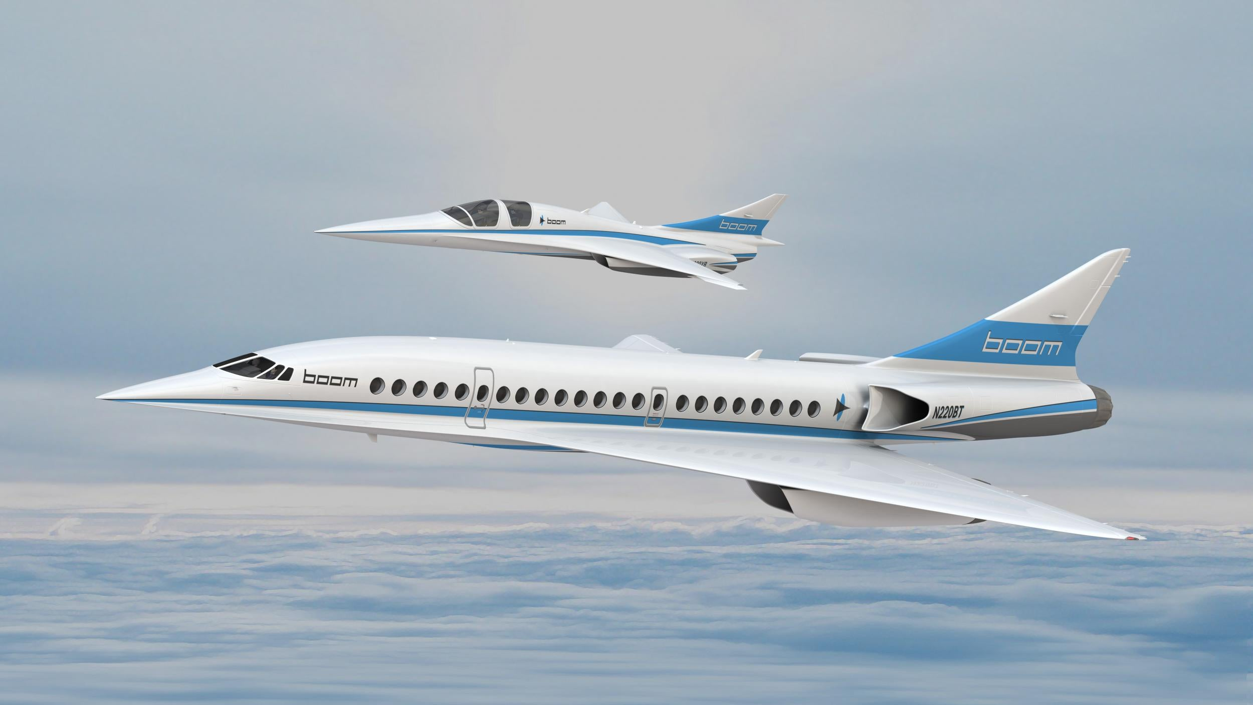 Son of Concorde: Supersonic passenger jet to take off next year