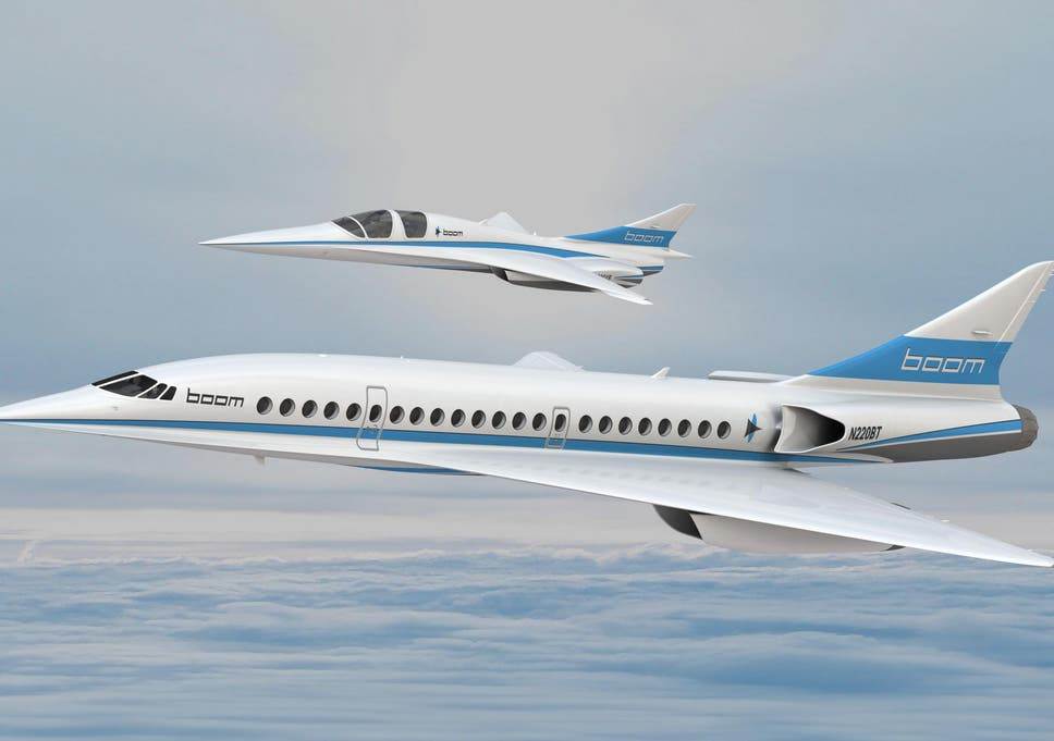Son Of Concorde Supersonic Passenger Jet To Take Off Next