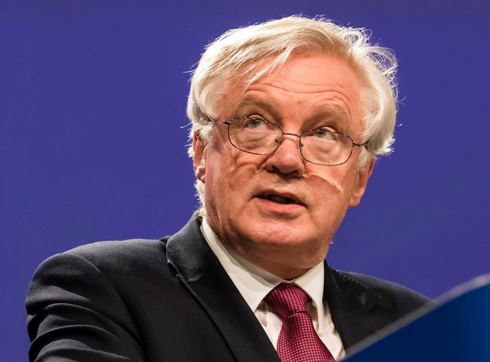 David Davis has begun the Brexit negotiations with the European Union