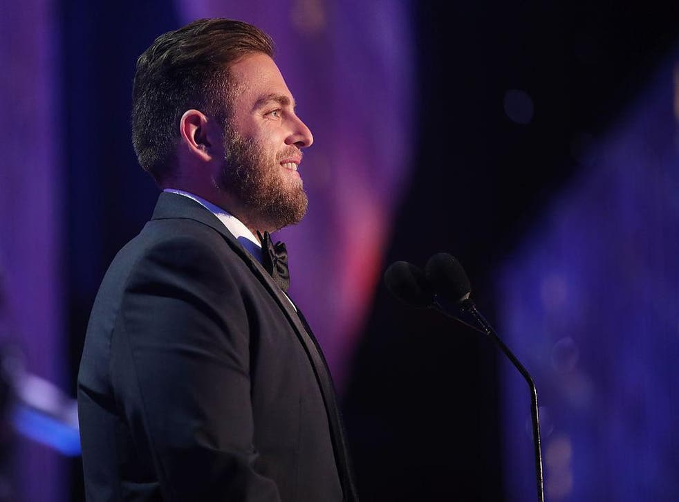 Jonah Hill at the Screen Actors Guild Awards in January 2017