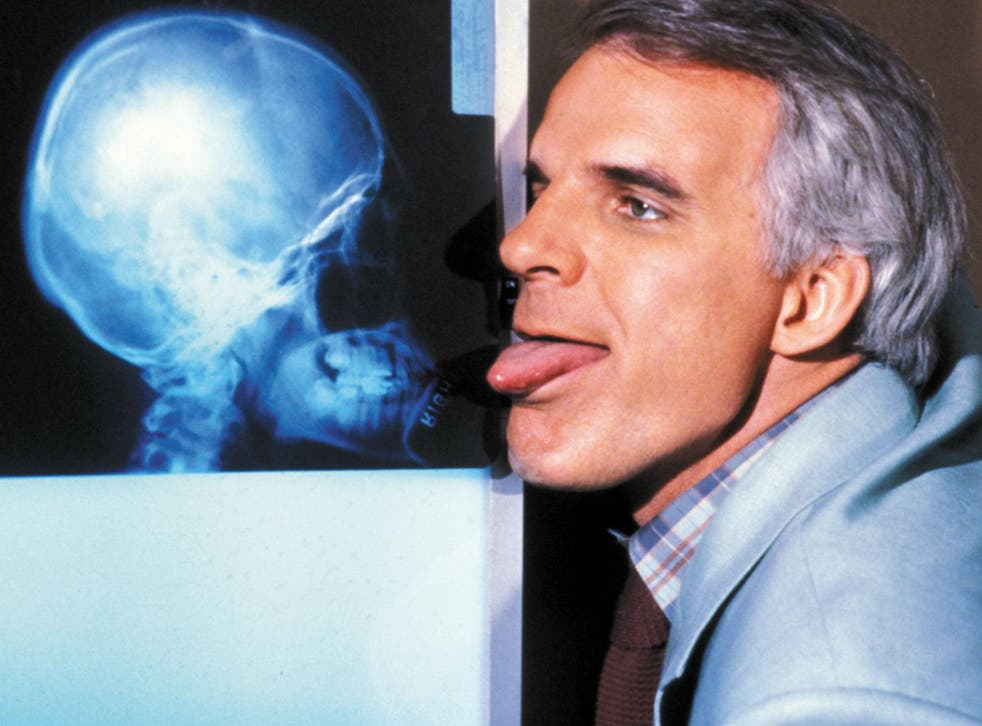 Steve Martin was at his comedy peak in this Carl Reiner movie