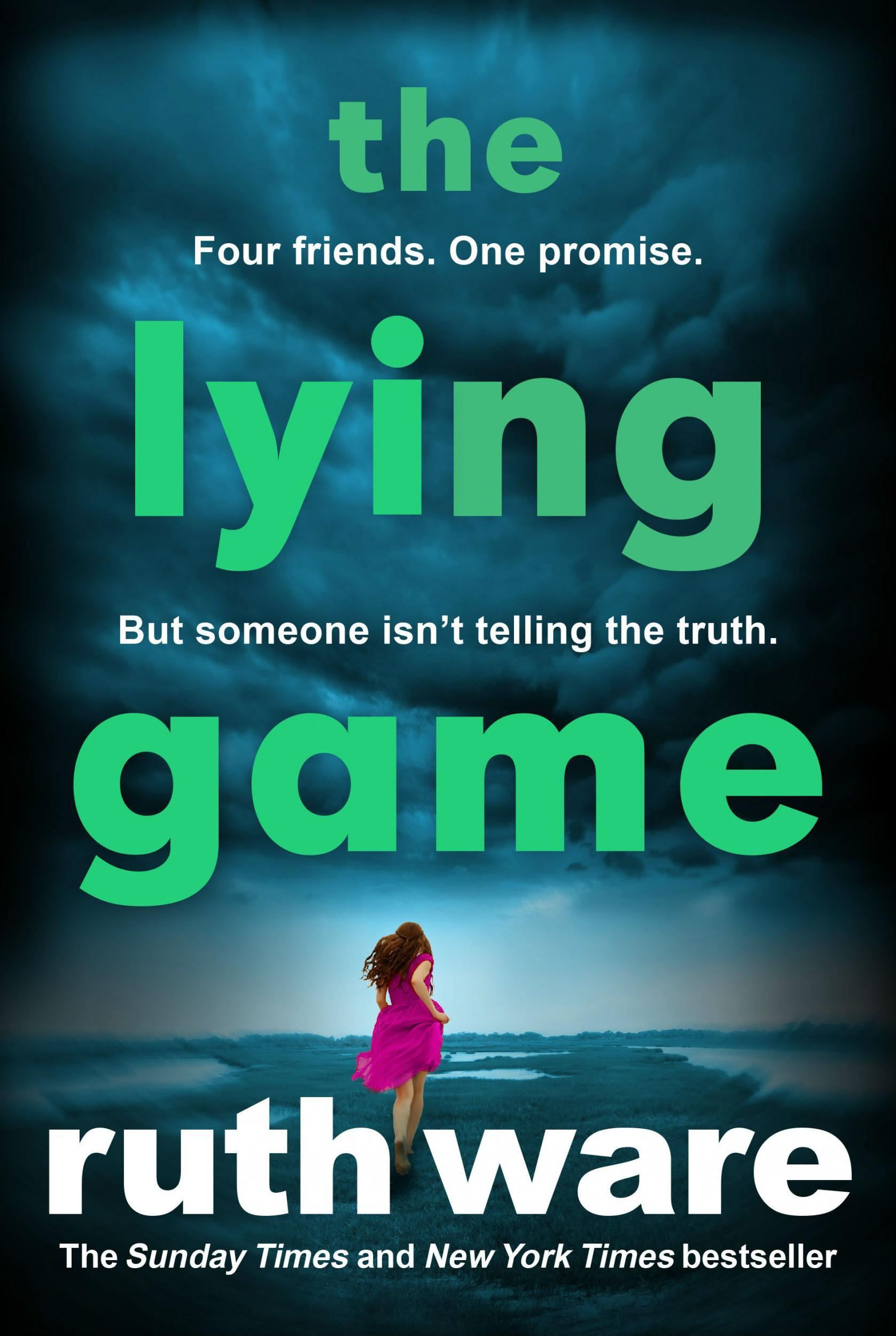 lying game  ruth ware book review gripping    devoured   single sitting