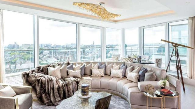 Inside a flat at 375 Kensington High Street - Located in the Royal Borough of Kensington and Chelsea