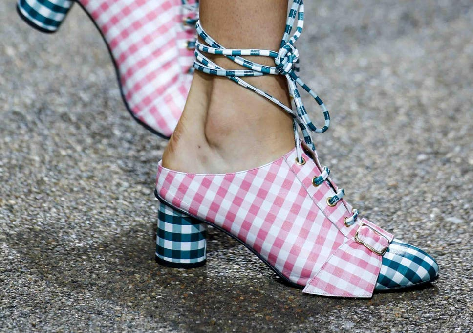 af9af420085 Fit to be tied: Why lace-up shoes are summer's most sultry trend ...