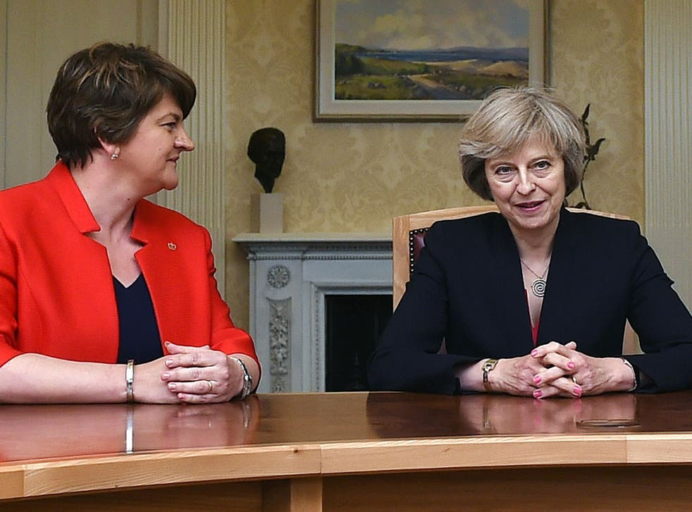 The DUP has demanded investment in health and infrastructure in Northern Ireland