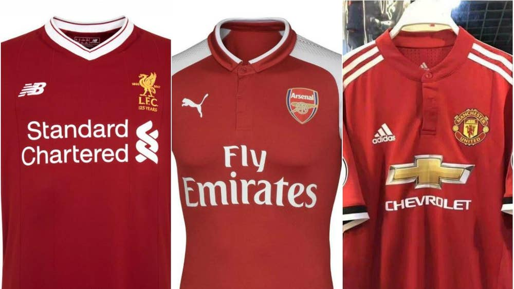 b9fa0c9a1 Manchester United s 2017 18 home kit leaked  Do pictures show new ...