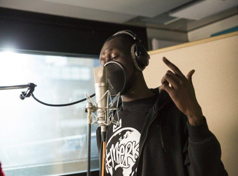Stormzy opened the cover of 'Bridge Over Troubled Water' with an original verse