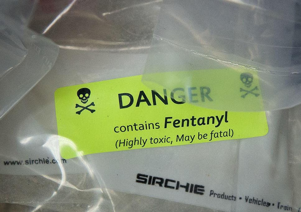 50 Times More Potent Than Heroin The Drug Is Killing People In The Us On A Daily Basis