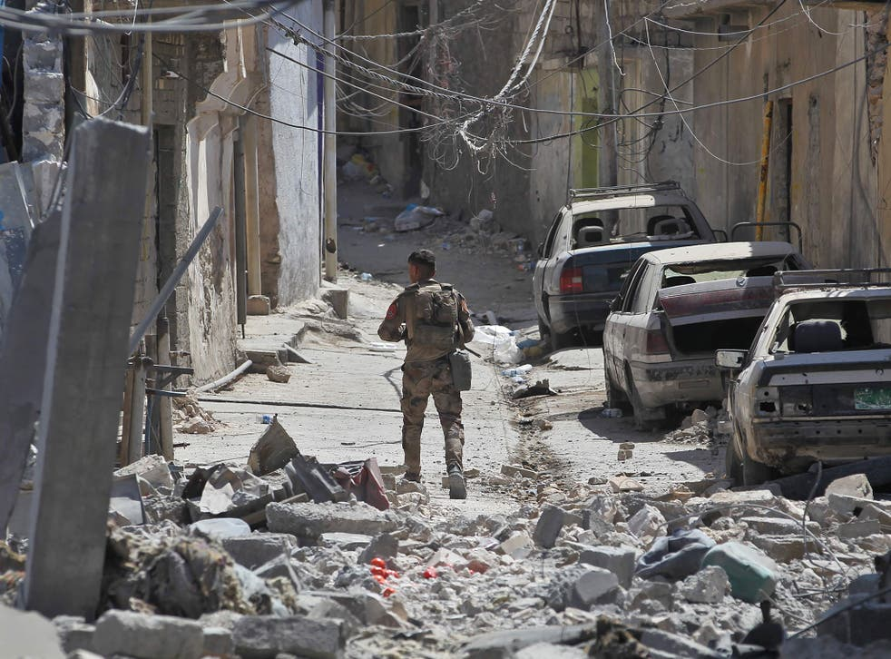 Iraqi government forces have suffered heavy casualties in the battle to retake Mosul
