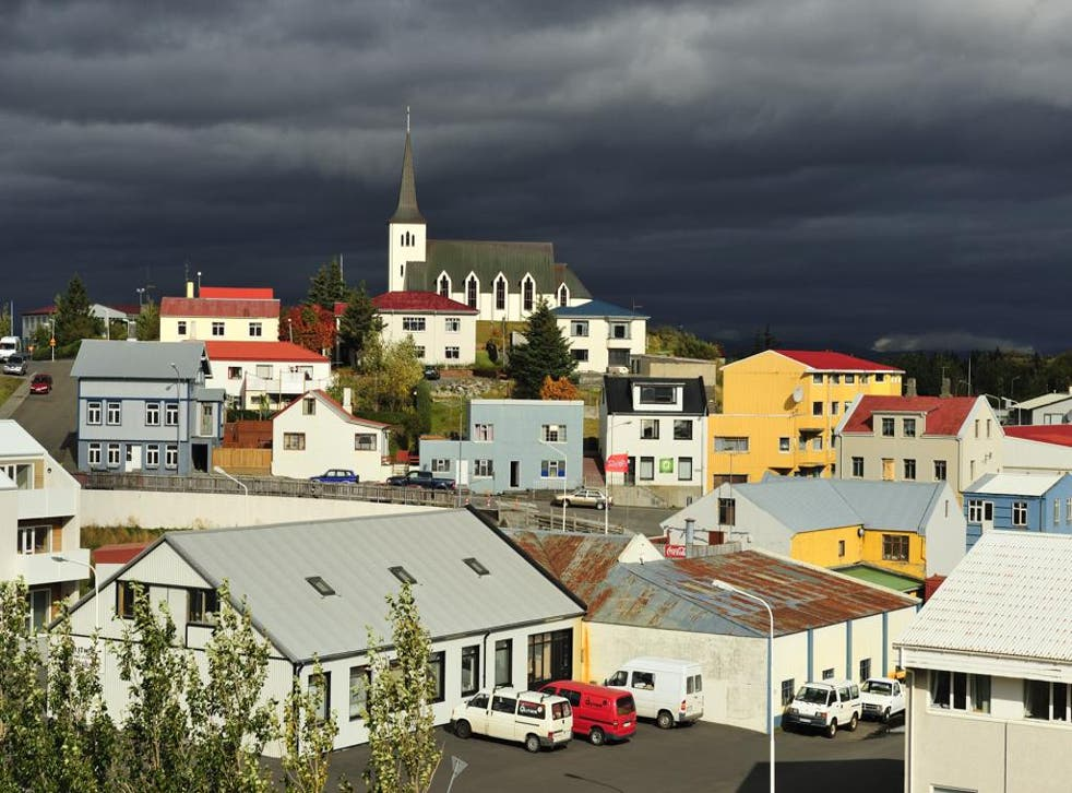 Bogarnes in the west of Iceland has seen an influx of tourists, along with the rest of the island