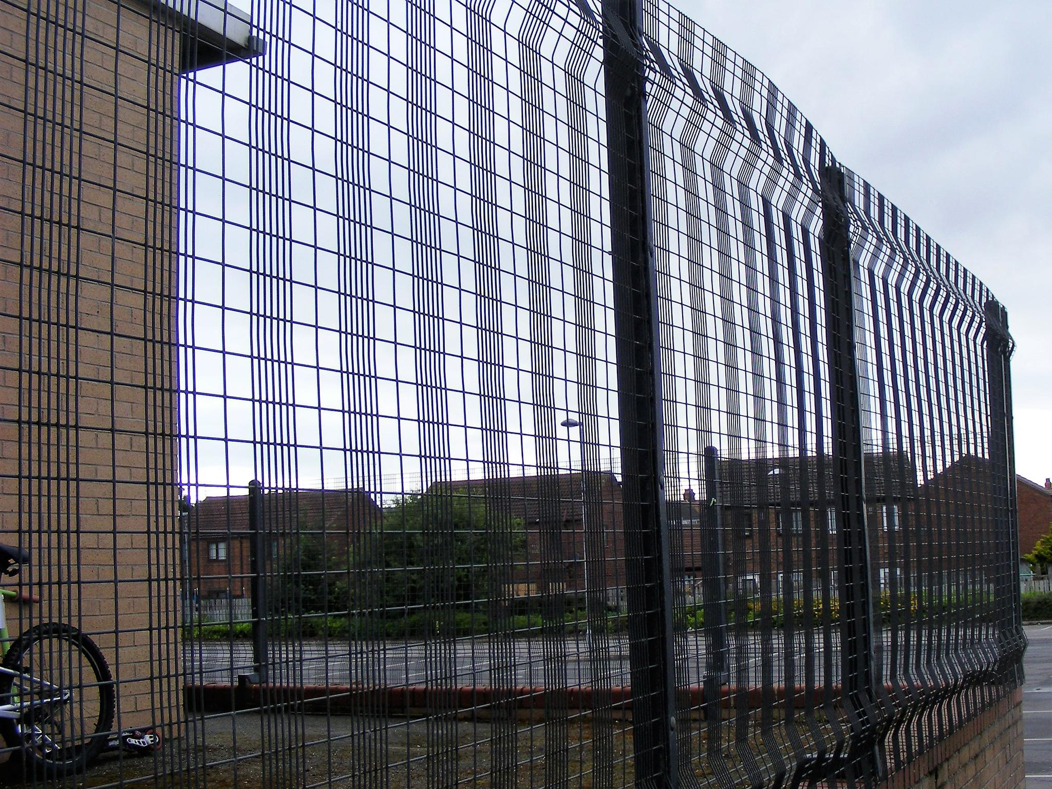 Grim And Proper Why So Many School Look Like Prisons The Independent Joining Electric Fencing Wire
