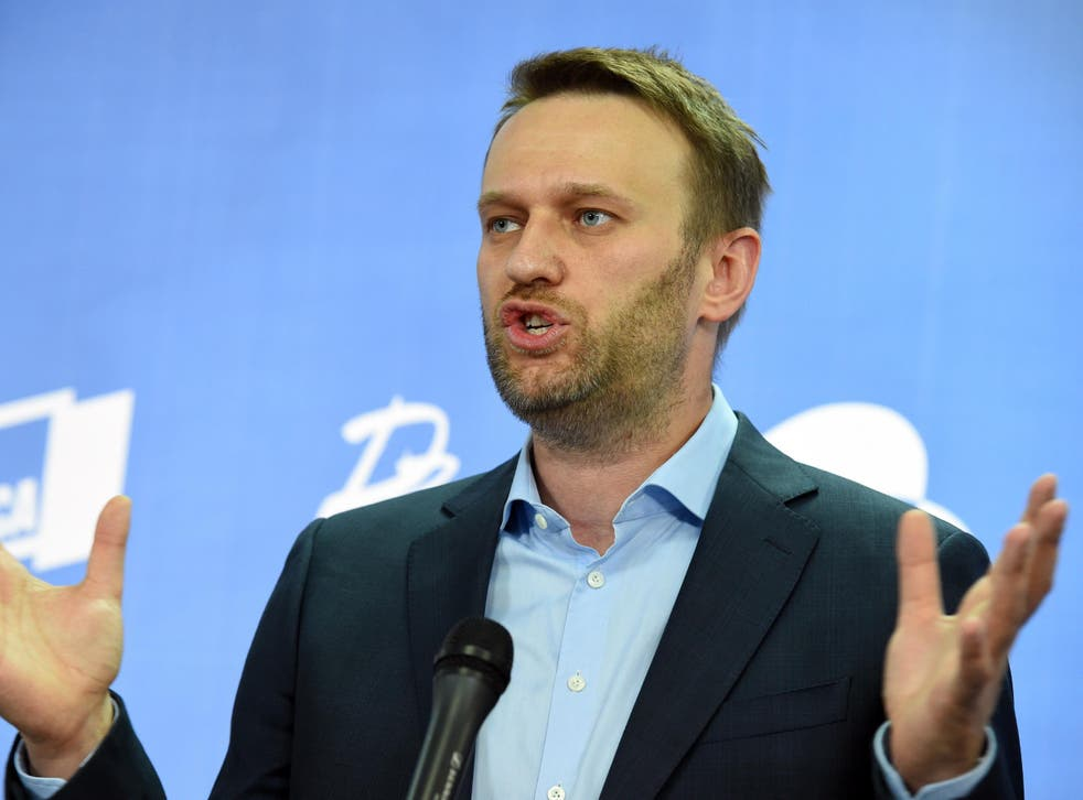Alexei Navalny has campaigned against the corruption of Putin's government