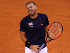 Dan Evans returns to tennis after 12-month ban: 'Cocaine is a