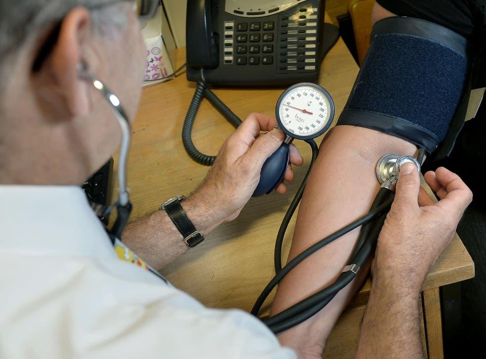 A GP treats a patient