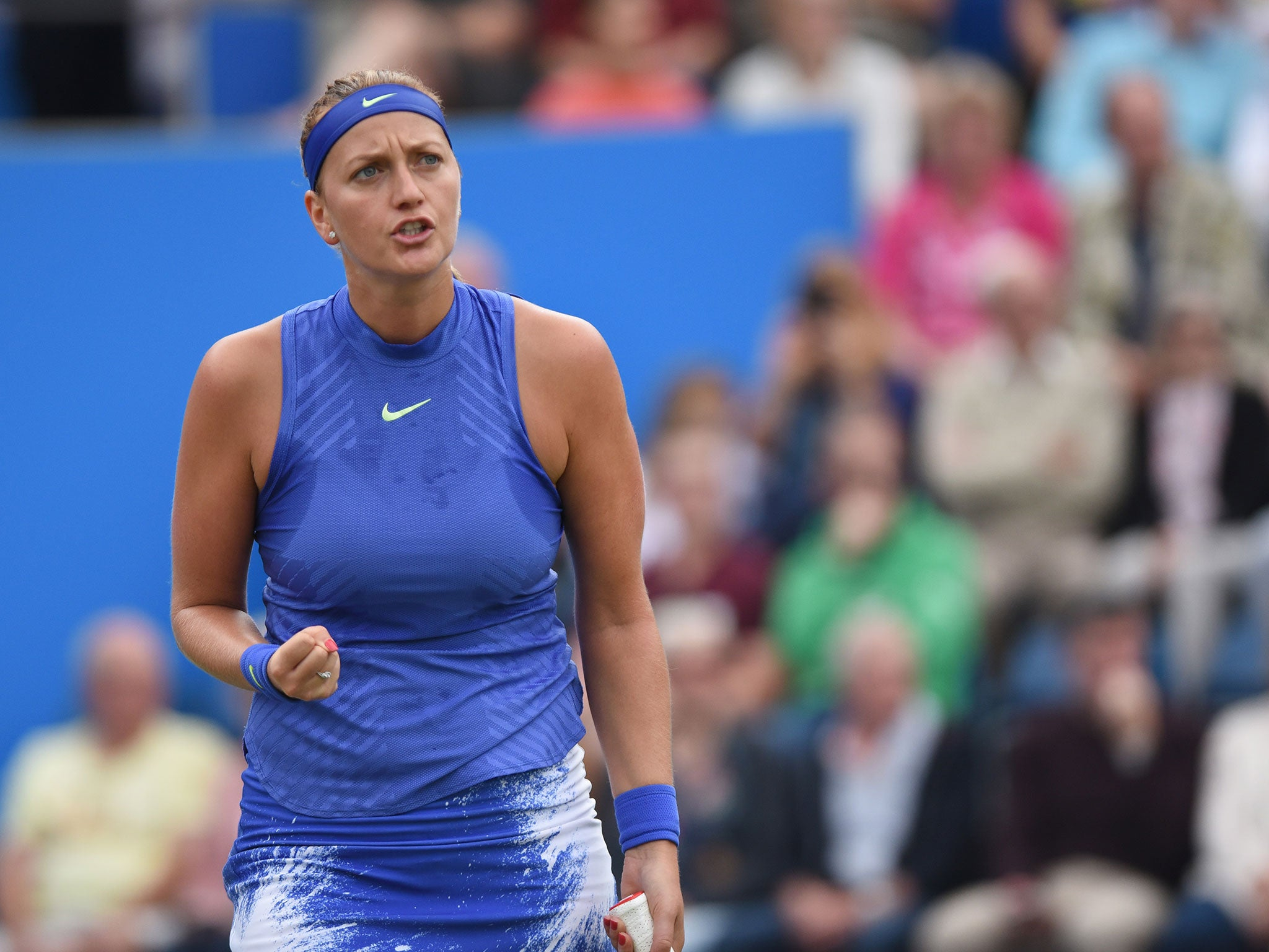 petra kvitova qualifies for first final since horrific knife attack the independent. Black Bedroom Furniture Sets. Home Design Ideas