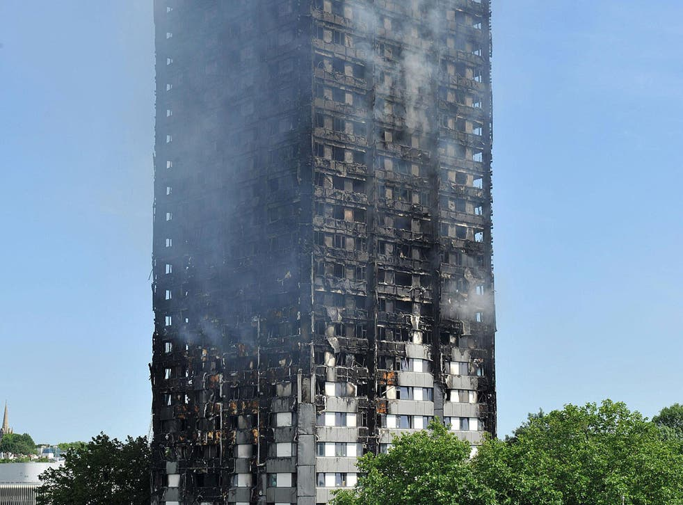 A Charity Commission report has revealed the complexity of distributing funds raised for survivors of the fire