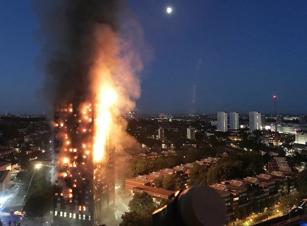 More than 200 firefighters and 40 fire engines were sent to tackle the blaze of unprecedented scale on 14 June