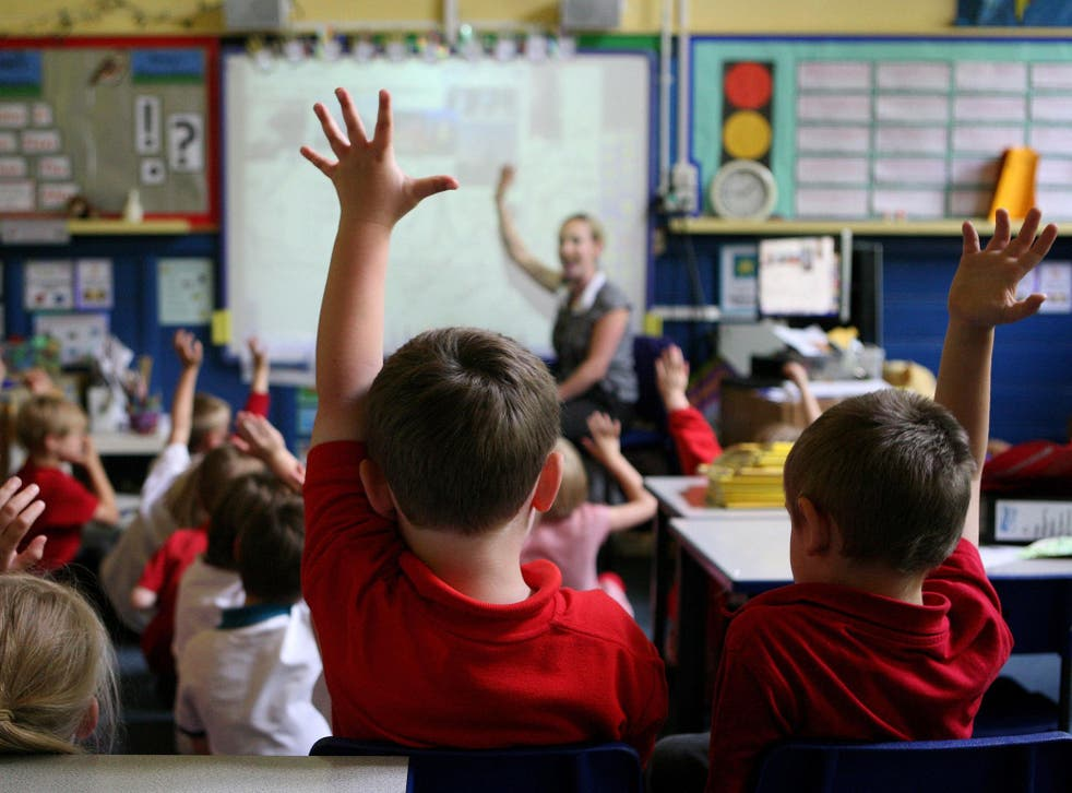 'We recognise there are challenges facing schools and we are taking significant steps to address them,' says DfE spokesperson