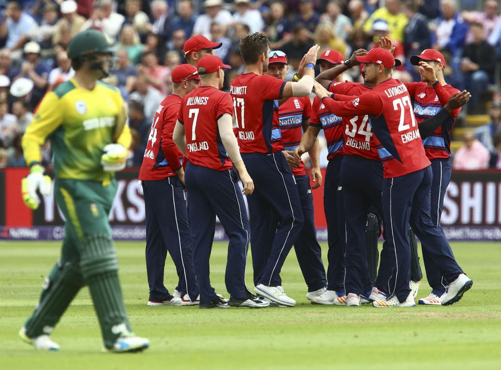 England beat South Africa in Cardiff to win the series