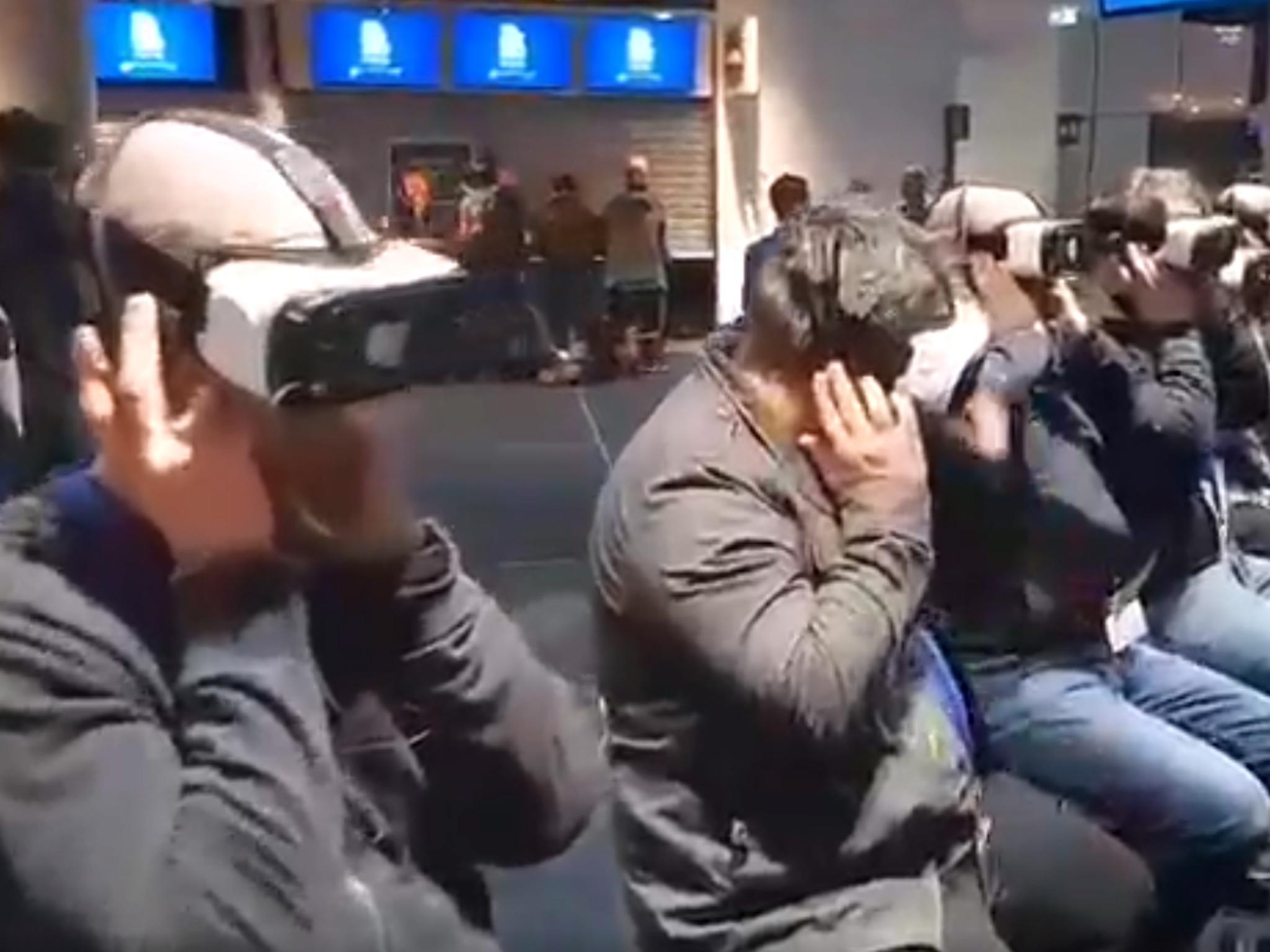 CEOs use VR headsets to experience 'realities' of homelessness