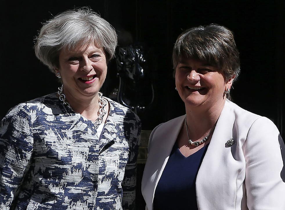 The Prime Minister's majority of 13 comes courtesy of an expensive deal with Arlene Foster's DUP