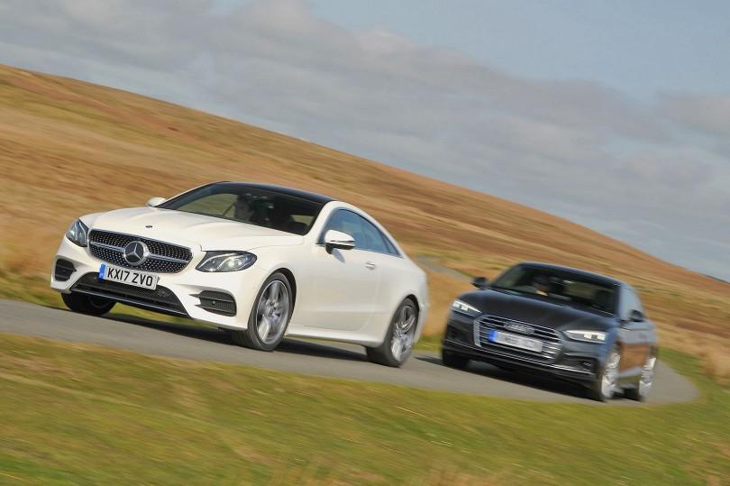 New sports coupés Audi A5 v Mercedes Benz E Class