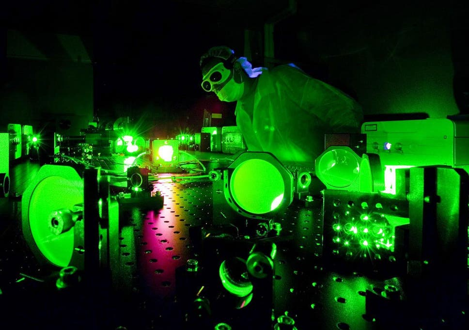 Billion Suns Scientists Create Brightest Light Ever Produced On