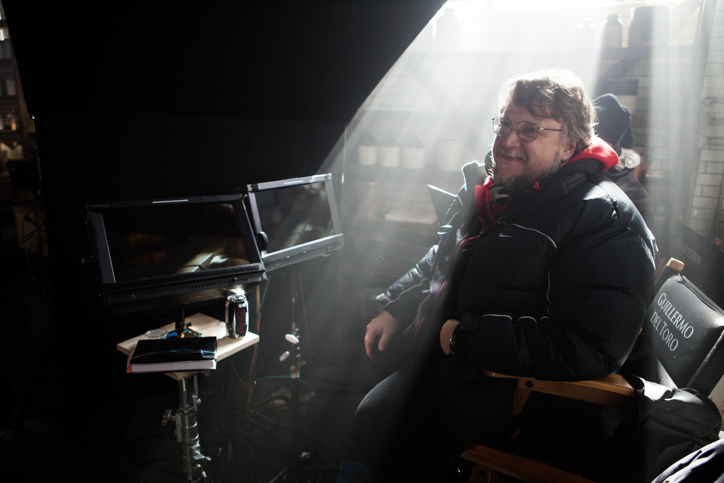 Guilhermo Del Toro inside guillermo del toro and steven spielberg respond to natalie