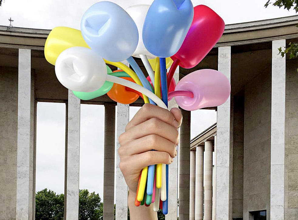 Jeff Koons's gift to Paris of the 'Bouquet of Tulips' will cost an estimated €3.5m to install