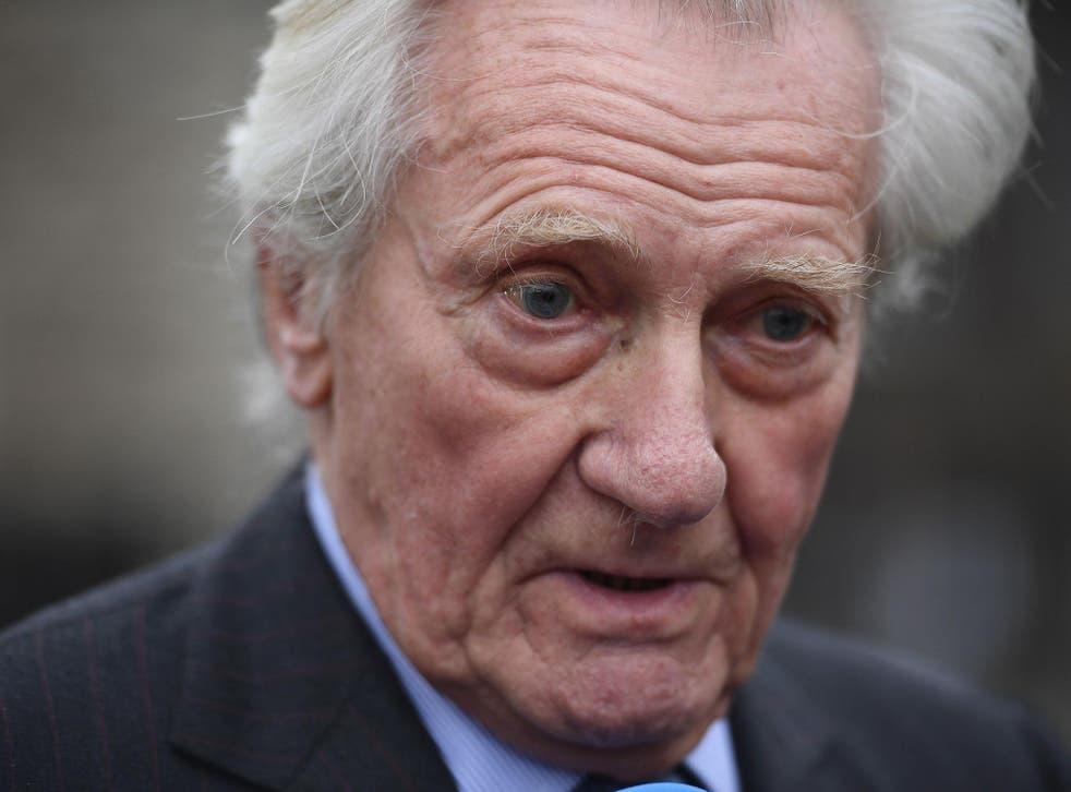 Tory Peer Michael Heseltine has said Brexit is reversible