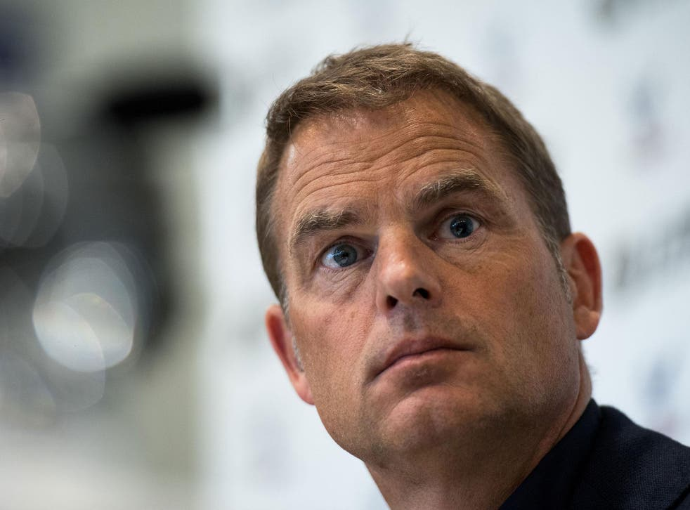 Frank de Boer looks back on his 11 weeks at Crystal Palace with his confidence still intact