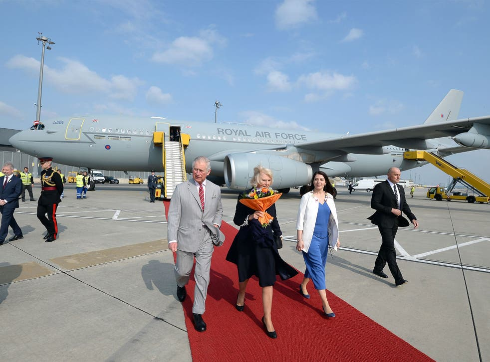 The ministerial jet was converted from an RAF plane to help save money on official trips