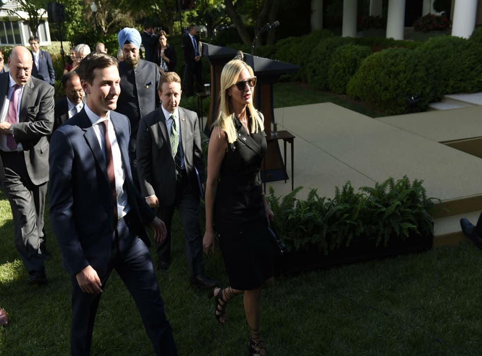 There are few people Mr Trump trusts more than his daughter and son-in-law