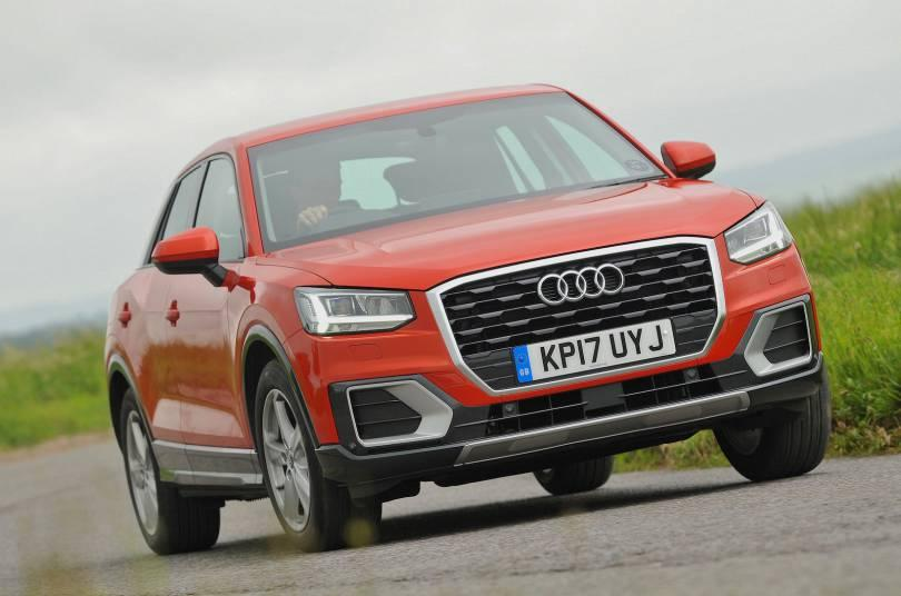 audi q2 1 0 tfsi reviewed the independent. Black Bedroom Furniture Sets. Home Design Ideas
