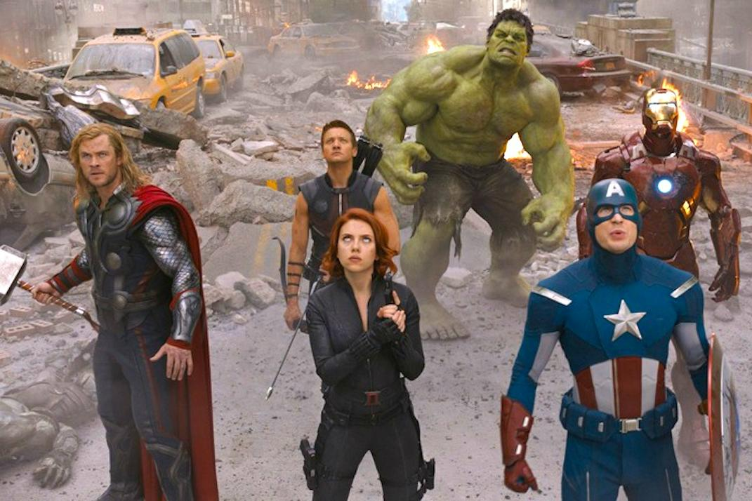The Marvel Super Heroes was a syndicated cartoon that was the first TV appearance of the Marvel Universe. It featured Captain America, Iron Man, The Incredible Hulk, Thor, and Namor, the Sub-Mariner in Three Shorts segments, with plots, dialogue and even .