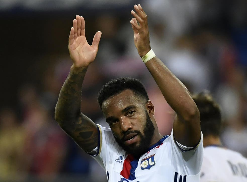 Lacazette wants to bring his time at Lyon to an end