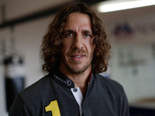 Carles Puyol: 'It was so tight-knit we were living in each other's pockets'
