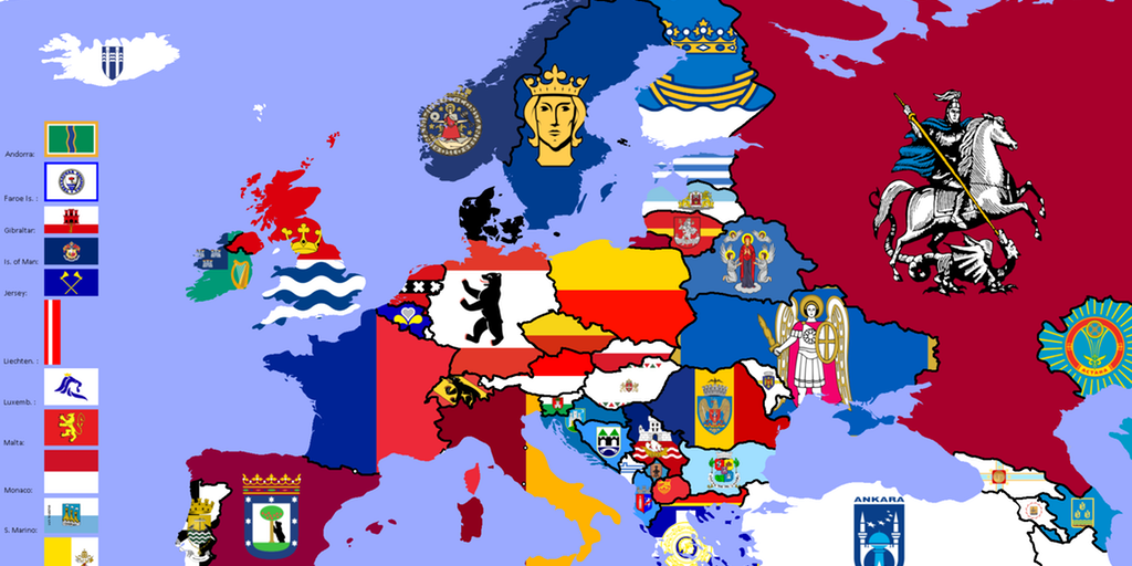 This flag map of Europe is a thing of beauty | indy100 Map Flag on create a pushpin map, bangladesh map, home map, pin map, general map, city map, orientation map, continent map, police map, strategy map, west africa map, game map, calendar map, food map, armenia map, class map, peru's map, economy map, church map, scroll map,