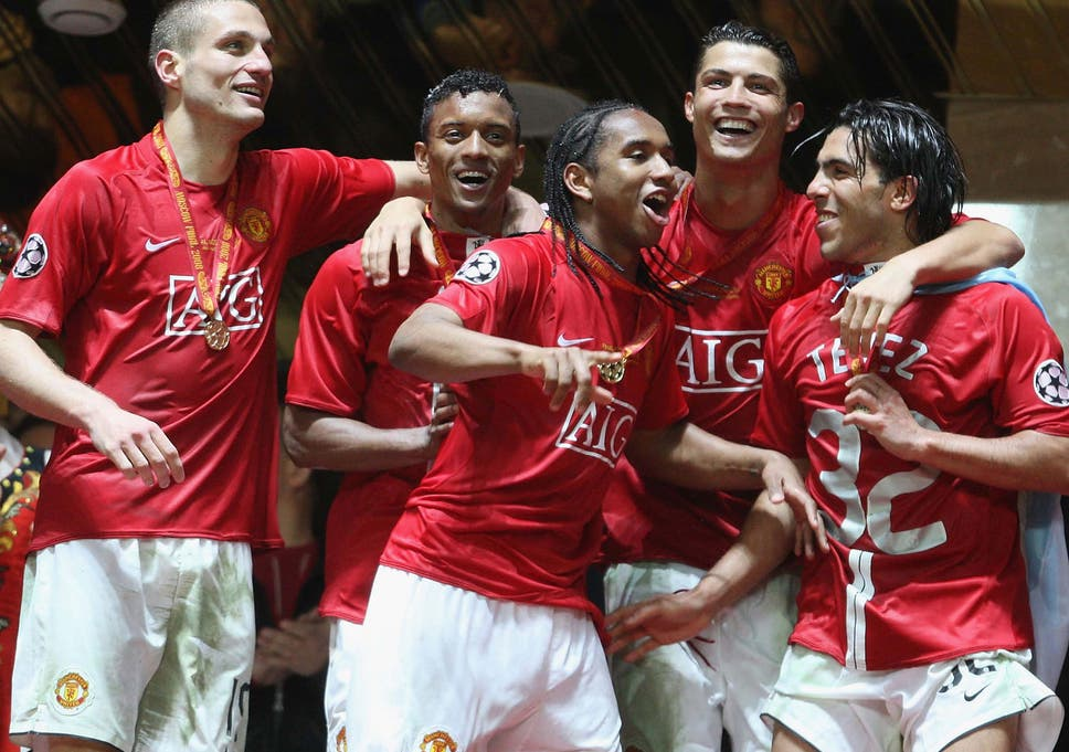 Anderson Scored Manchester Uniteds Penultimate Penalty In The Dramatic Moscow Shoot Out