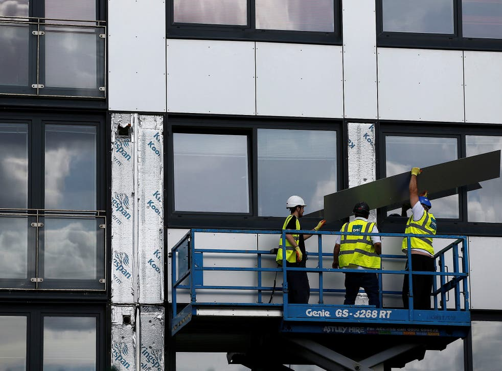 <p>Barratt estimated that it faced a £70m bill for replacing combustible materials at all its sites</p>