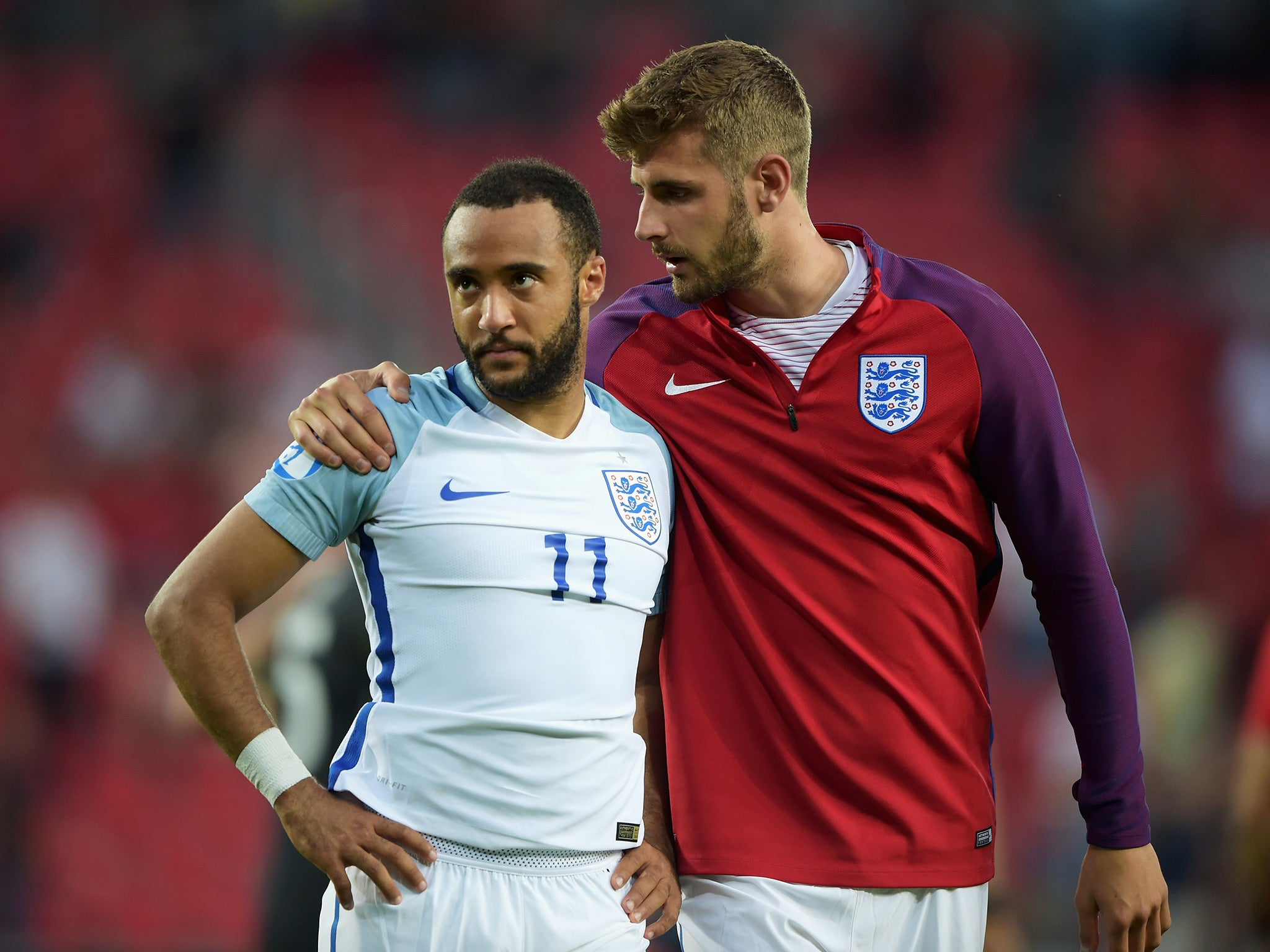 Nathan Redmond apologises for penalty miss after last-ever kick for England U21s ended in tournament exit