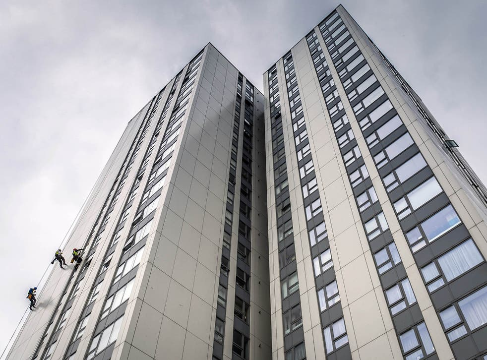 It comes after The Independent revealed 'combustible' cladding similar to the panels at the centre of the criminal investigation into the Grenfell Tower fire was not being tested by the Government